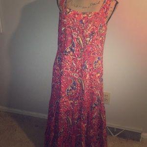 Talbots Summer Dress Size 8P NWT